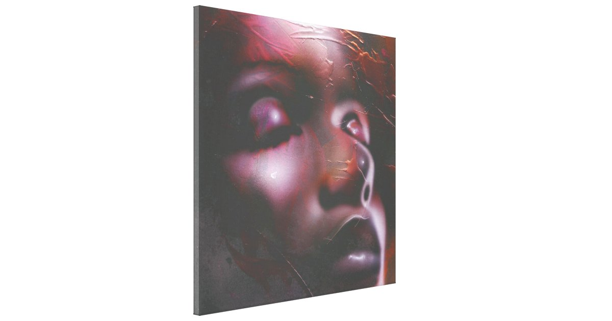 """Sun..."" ArteKaos Wrapped Canvas Print"