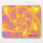 Sun atómico Mousepad Alfombrillas De Ratones
