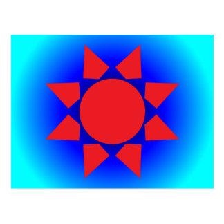 Sun azteca postal