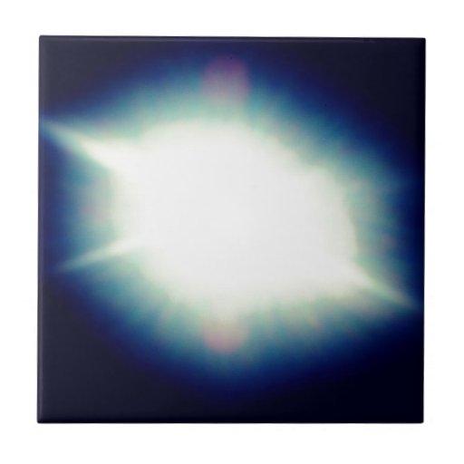 Sun Azulejo Cuadrado Pequeño