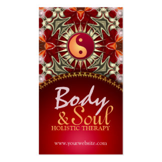Sun Balance New Age Reiki Yoga Business Cards