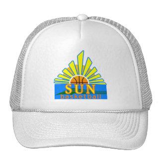 Sun Basketball Cap Trucker Hat