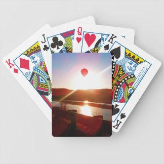 Sun beam, Hot air balloon Bicycle Playing Cards