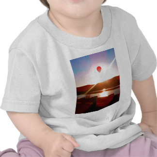 Sun beam, Hot air balloon T-shirt