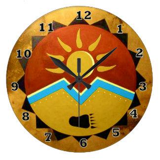 Sun Bear Clock