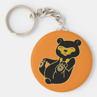 Sun Bear Cub Keychain