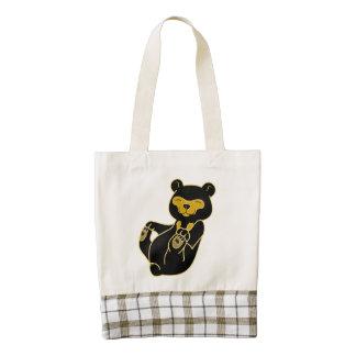 Sun Bear Cub Zazzle HEART Tote Bag
