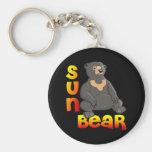 Sun Bear Key Chains