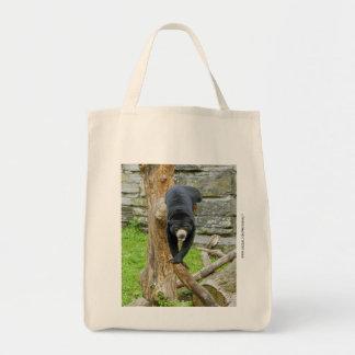 Sun Bear Tote Bags