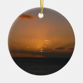 Sun Behind Clouds Ornament