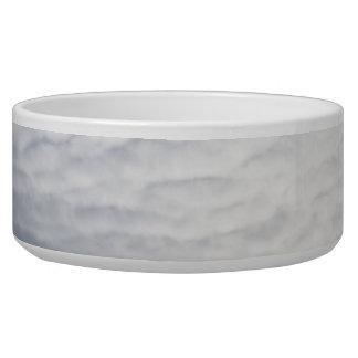 Sun behind clouds dog bowls