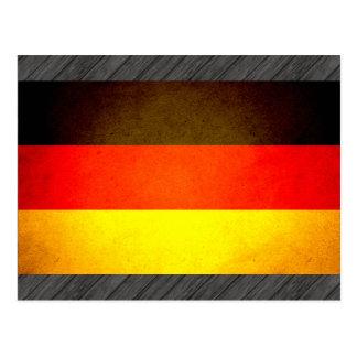 Sun besó la bandera de Alemania Postal