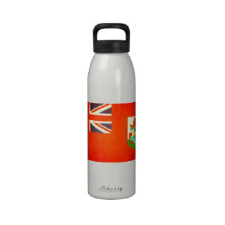 Sun besó la bandera de Bermudas Botallas De Agua