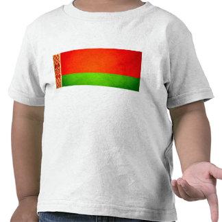 Sun besó la bandera de Bielorrusia Camisetas