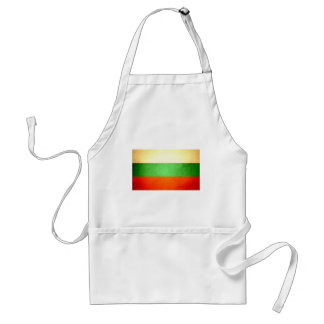Sun besó la bandera de Bulgaria Delantales