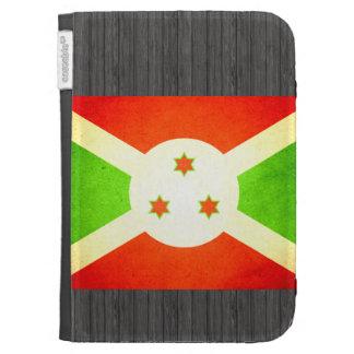 Sun besó la bandera de Burundi