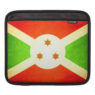 Sun besó la bandera de Burundi Manga De iPad