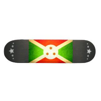 Sun besó la bandera de Burundi Patin Personalizado
