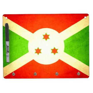 Sun besó la bandera de Burundi Pizarras