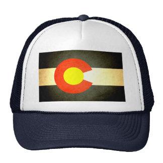 Sun besó la bandera de Colorado Gorros