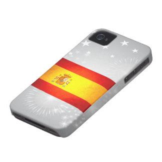 Sun besó la bandera de España iPhone 4 Carcasas