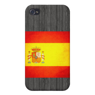 Sun besó la bandera de España iPhone 4 Carcasa