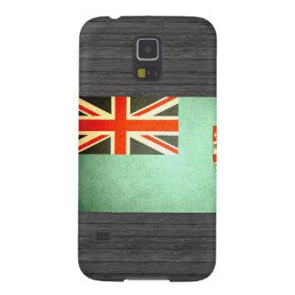Sun besó la bandera de Fiji Fundas De Galaxy S5
