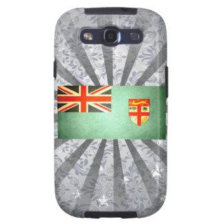 Sun besó la bandera de Fiji Galaxy S3 Funda
