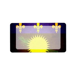 Sun besó la bandera de Guadalupe Etiquetas De Dirección