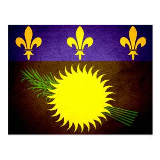 Sun besó la bandera de Guadalupe Tarjeta Postal