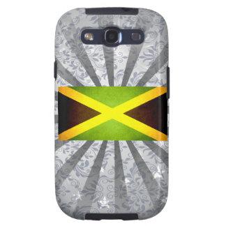 Sun besó la bandera de Jamaica Galaxy S3 Carcasas