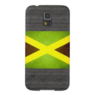 Sun besó la bandera de Jamaica Carcasas De Galaxy S5