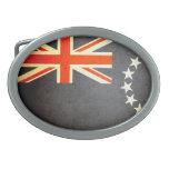 Sun besó la bandera de las islas de cocinero hebilla cinturon