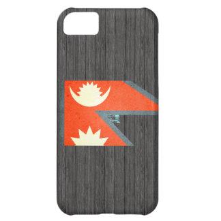 Sun besó la bandera de Nepal Funda Para iPhone 5C
