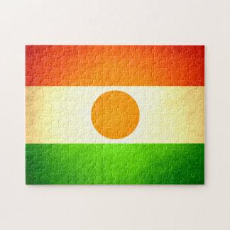 Sun besó la bandera de Niger Rompecabezas