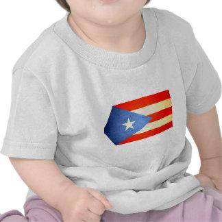 Sun besó la bandera de Puerto Rico Camisetas