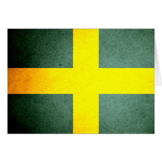 Sun besó la bandera de Suecia Felicitación