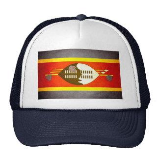 Sun besó la bandera de Swazilandia Gorros