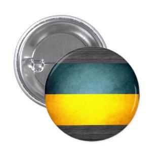 Sun besó la bandera de Ucrania Pin Redondo De 1 Pulgada