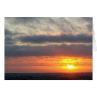 Sun Between Skies Card