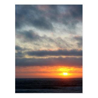 Sun Between Skies Postcard