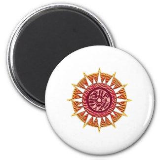 Sun Bird 4 Magnet