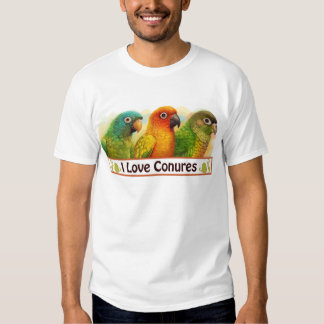 Sun blue-crowned green-cheeked conures shirt