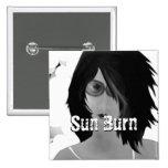 Sun Burn Pin