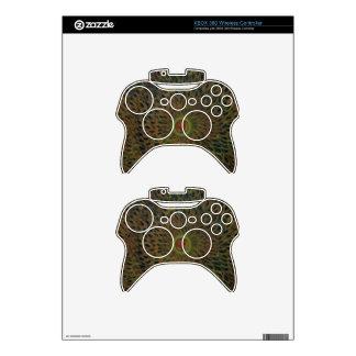 Sun Burst Xbox 360 Controller Skins