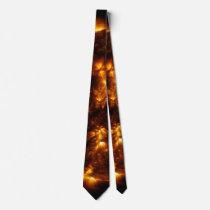 Sun Bursts Solar Astronomy Star Neck Tie