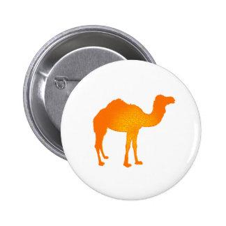 Sun Camel 2 Inch Round Button