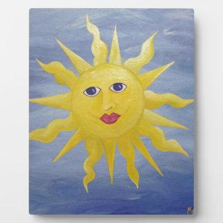 Sun caprichoso placas con fotos