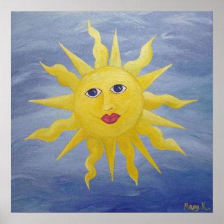 Sun caprichoso póster