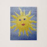 Sun caprichoso puzzle con fotos